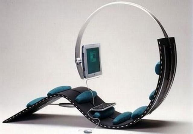 необычное компьютерное кресло или стул