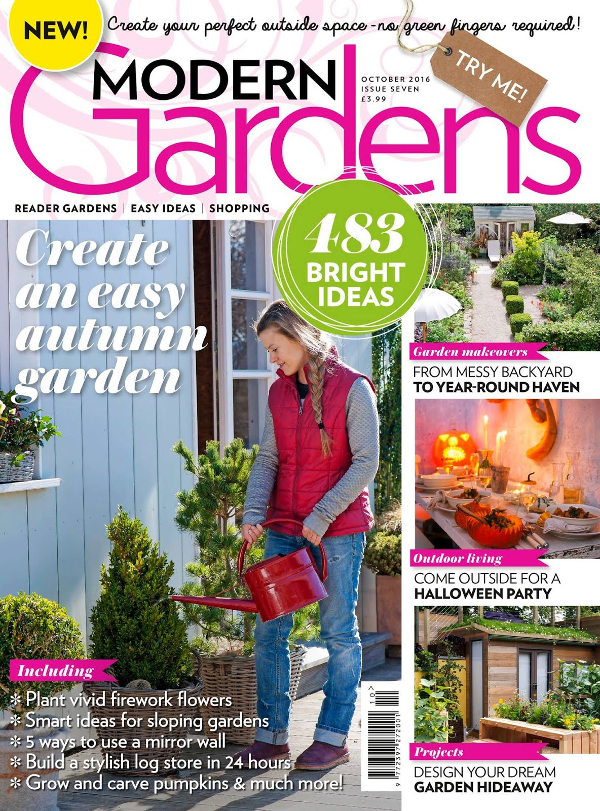 FEATURED IN MODERN GARDENS MAGAZINE