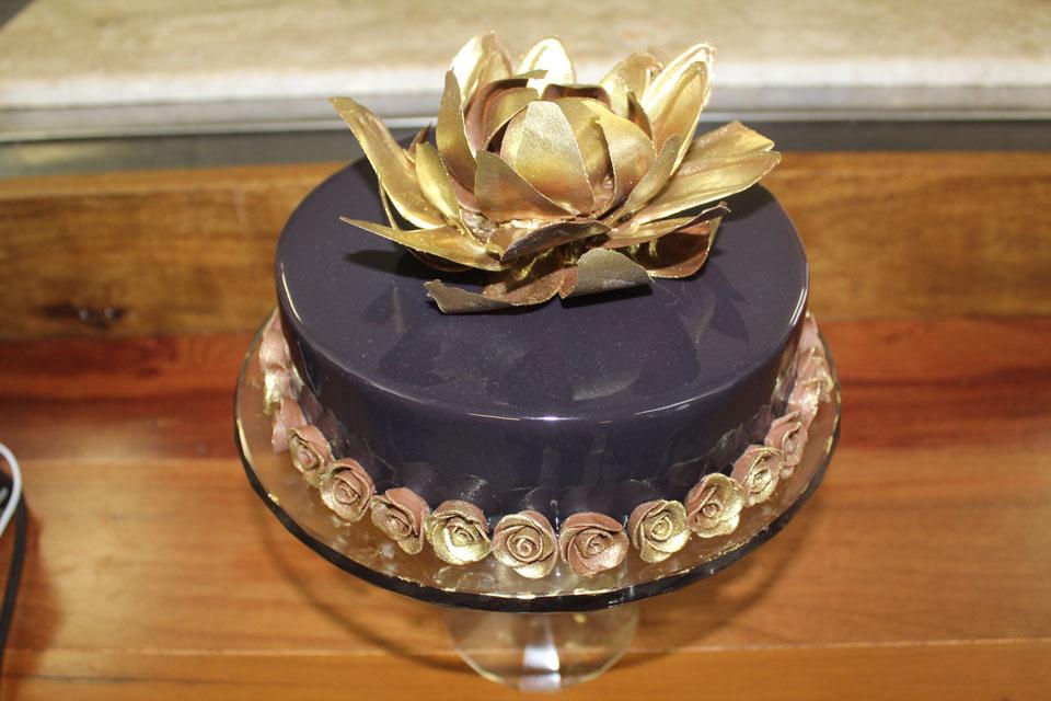 - Glaçagem de vidro para decorar Tortas e Sobremesas