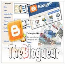Installer Widget Blogger
