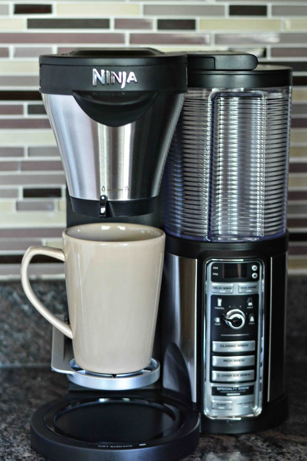 Ninja Coffee Maker Clean Cycle : Theresa s Mixed Nuts: Ninja Coffee Bar Delivers A Perfect Brew!
