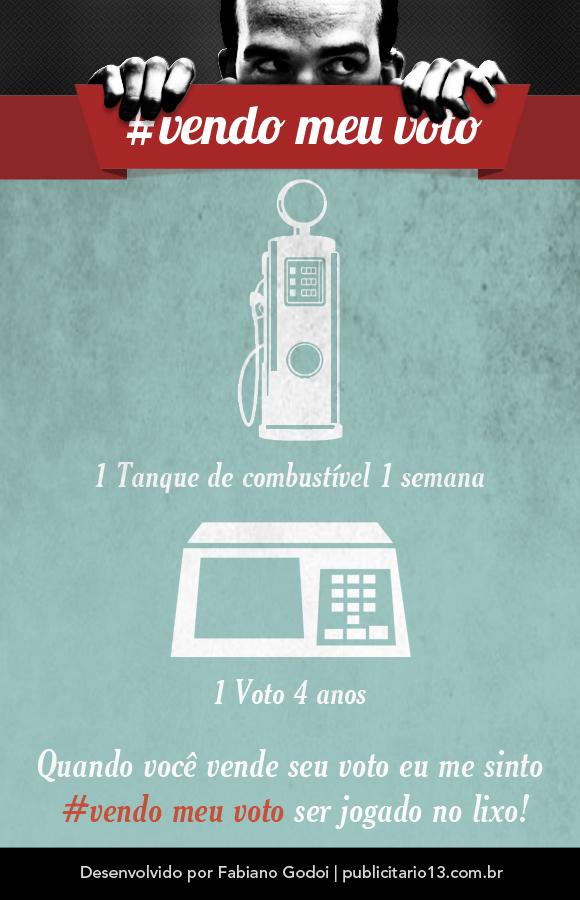 #vendo meu voto