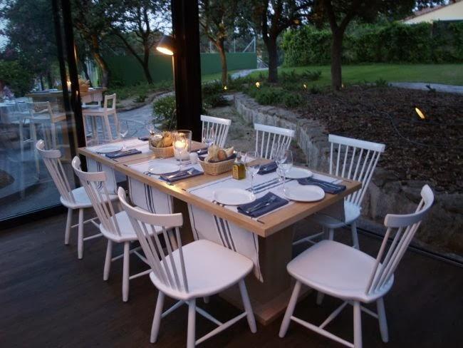 Marzua: Cabaña Marconi, un restaurante entre encinas centenarias.