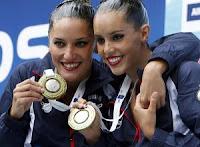 NATACIÓN SINCRONIZADA-Bronce para el dúo de Fuentes y Carbonell: oro para Rusia y plata para China