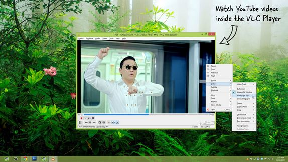 Watch the Youtube Video Playlist With VLC Media Player