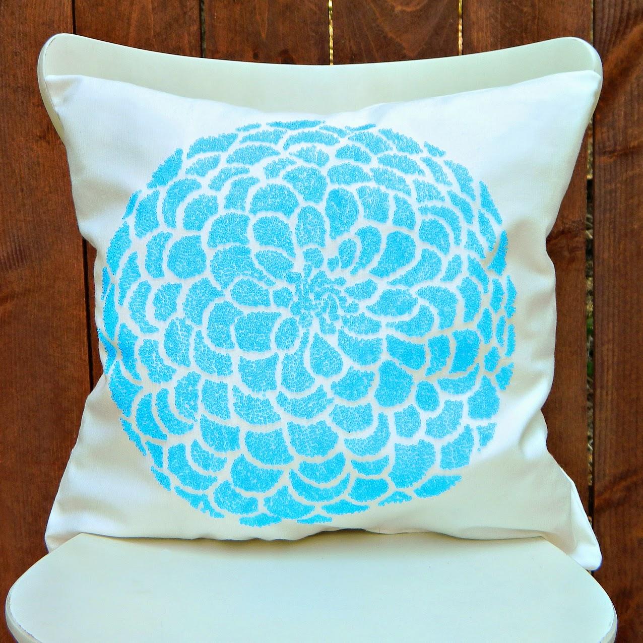 Decorative Pillows With Beading : Mark Montano: Beaded Pillows (without beading) DIY