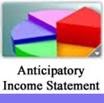 ANTICIPATORY INCOME STATEMENT 2013-14