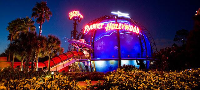 Planet Hollywood Restaurante Orlando