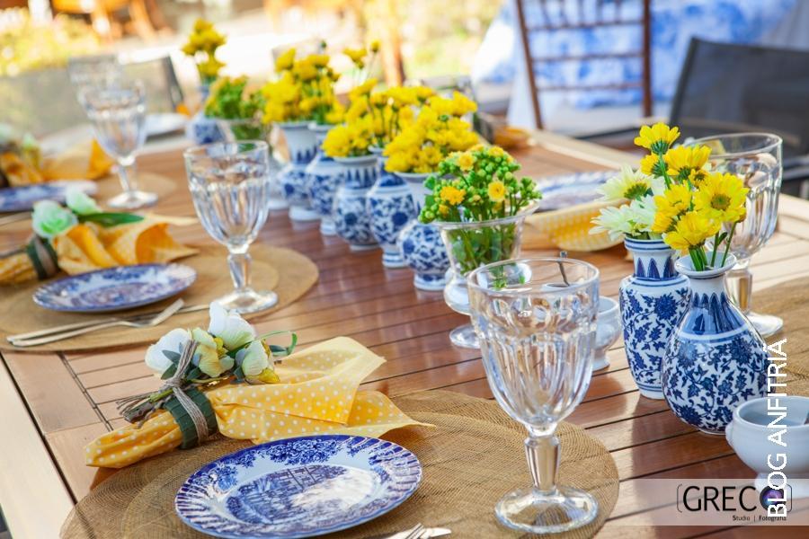 decoracao de mesa azul e amarelo:MISTURINHAS: DECORAÇÃO: AZUL+AMARELO!!!