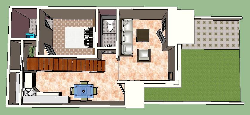 Desain Rumah dengan Kesan Luas Di Lahan Terbatas & Rumah dengan Kesan Luas Di Lahan Terbatas