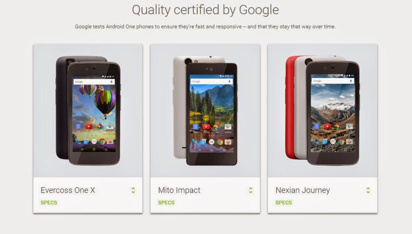 Google gulirkan update Android v5.1.1 untuk semua smartphone Android One via ota