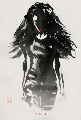 The Wolverine Sumi-e Character Movie Posters - Svetlana Khodchenkova as Viper