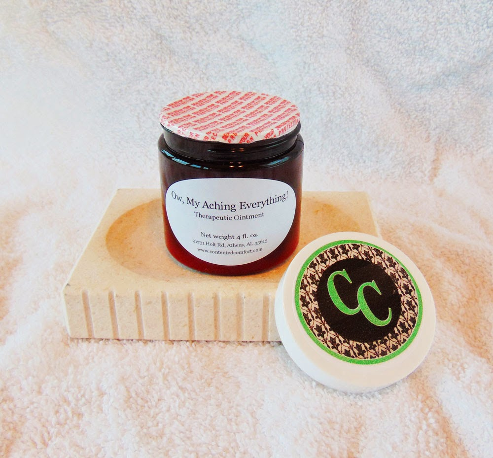 Anti-inflammatory ointment made with essential oils
