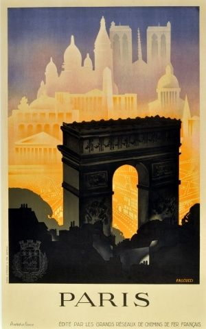 Vintage Travel Posters Paris