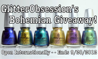GlitterObsessions International Giveaway