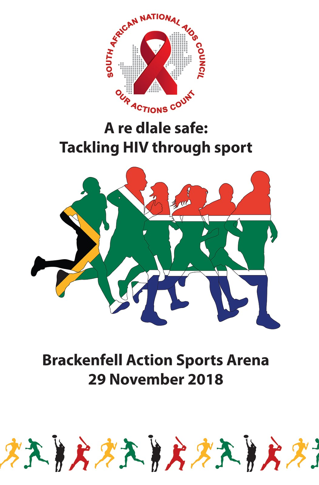 A re dlale safe: Tackling HIV through sport