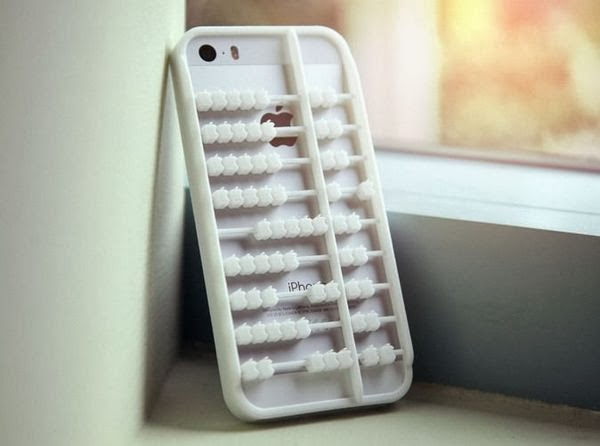 3D Printed Abacus iPhone 5s Case