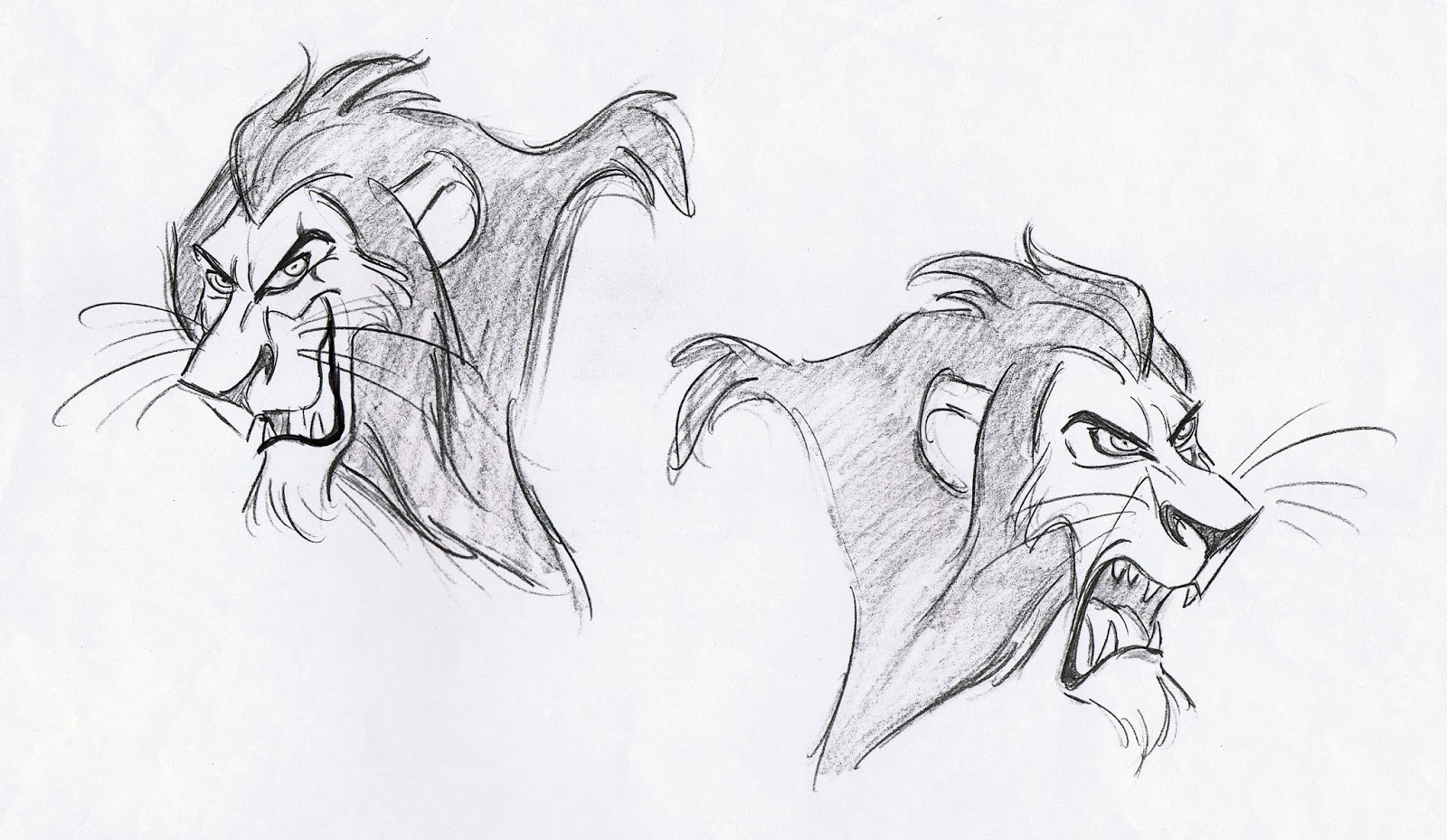 Deja View Drawing Lions