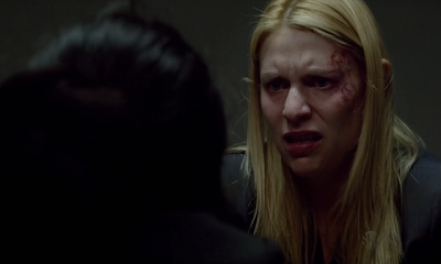 Escena del episodio 2x11 de la serie Homeland