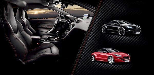 2014 Peugeot RCZ Red Carbon Limited Edition