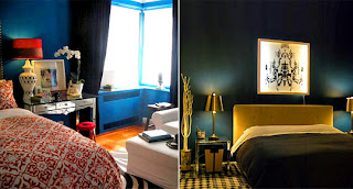 Black Teal Bedroom