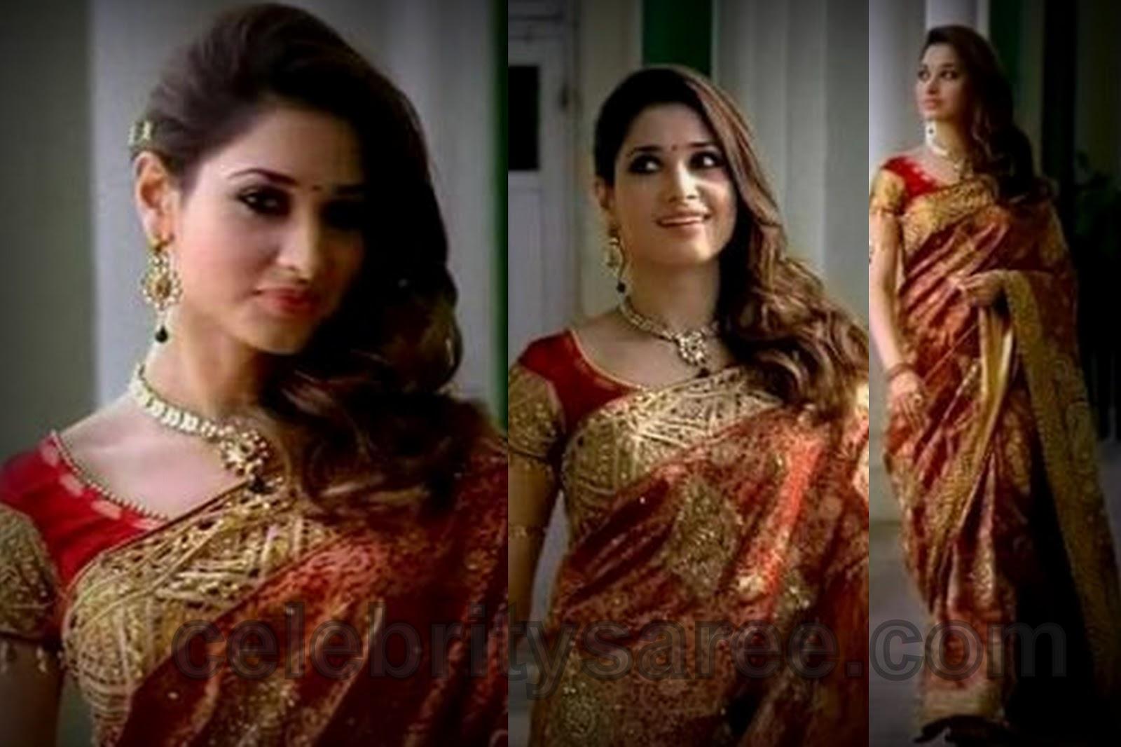 Wedding Silk Saree Blouse
