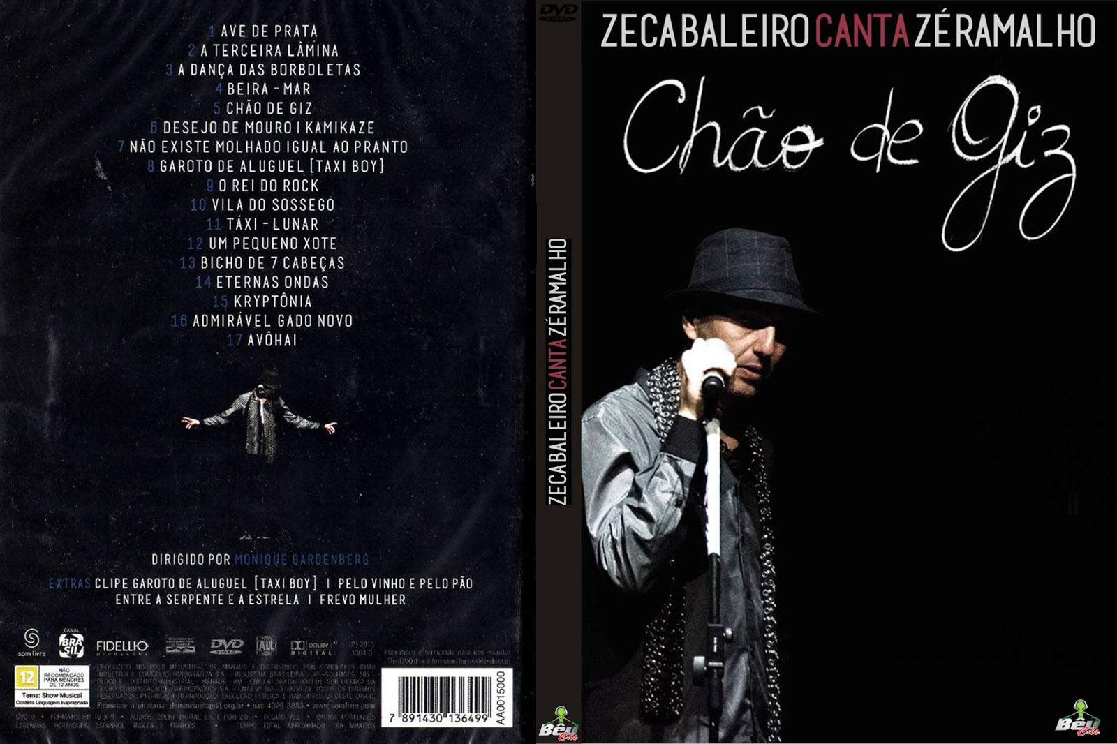 Download Zeca Baleiro Canta Zé Ramalho, Chão de Giz DVDRip 2015
