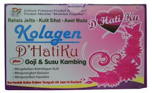 KOLAGEN D'HATIKU plus Goji dan Susu Kambing RM49