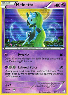 Meloetta Boundaries Crossed Pokemon Card