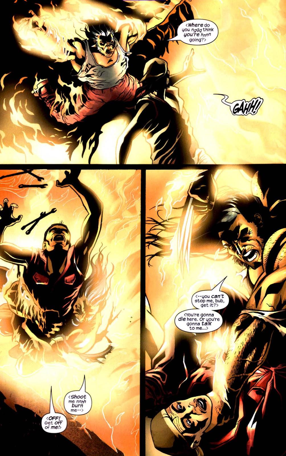 Read online Wolverine (2003) comic -  Issue #8 - 13