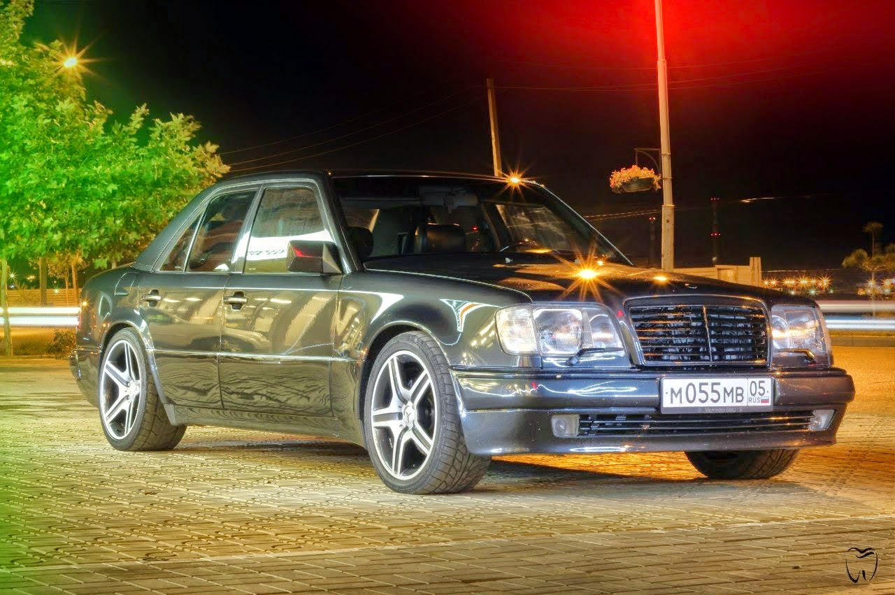 mercedes w124 e500 shit happens benztuning. Black Bedroom Furniture Sets. Home Design Ideas