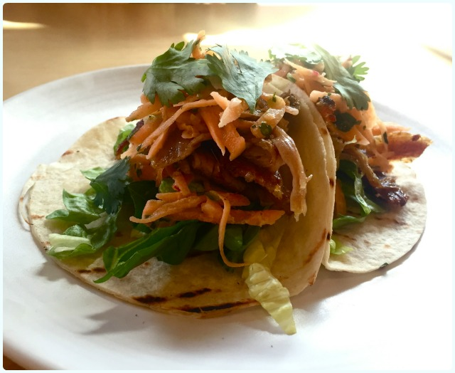Common - Spiced lamb taco