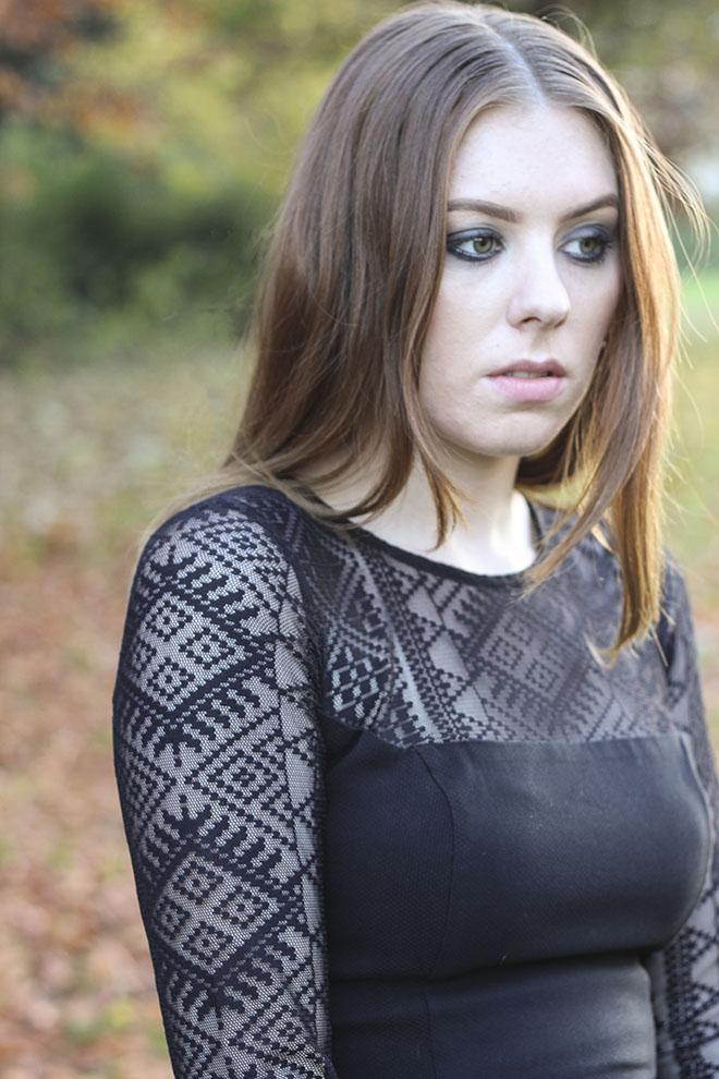 Christmas Hybrid Lace Pencil Dress - Uk Fashion Blogger