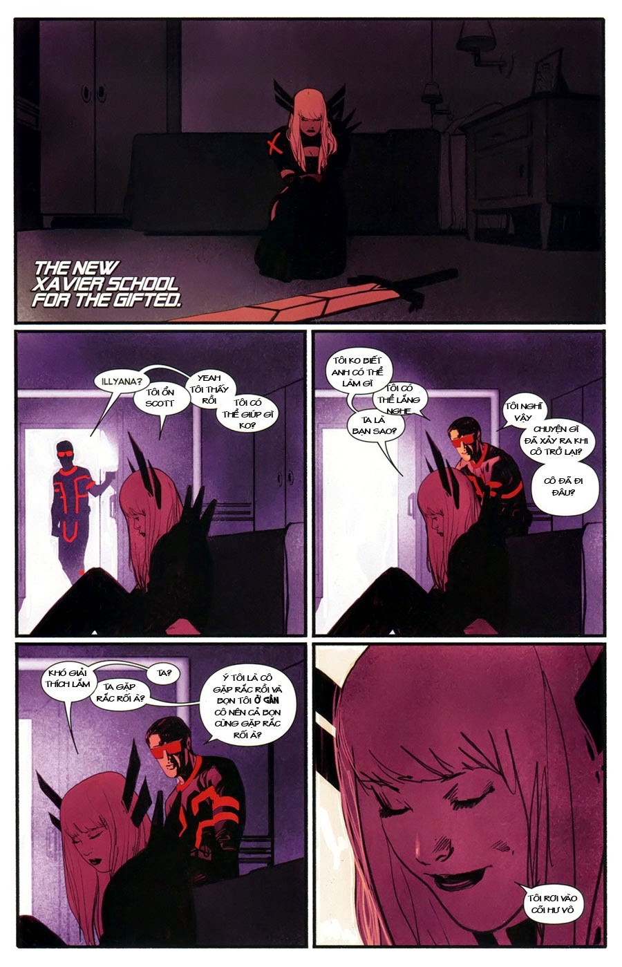 Uncanny X-Men chap 5 - Trang 4