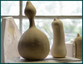 Leo Battistelli. Gargalhadas (Carcajadas). Esculturas.