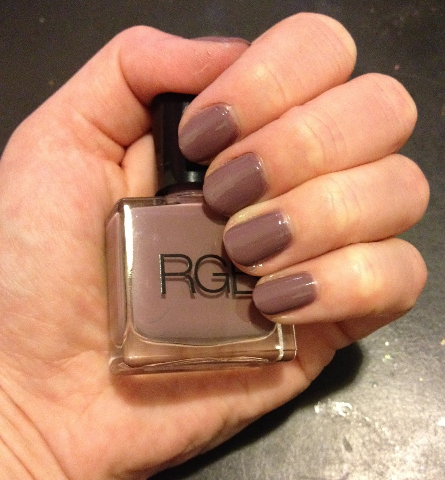 Two Week Nail Polish: The Beauty Of Life: Mani Of The Week: RGB Haze