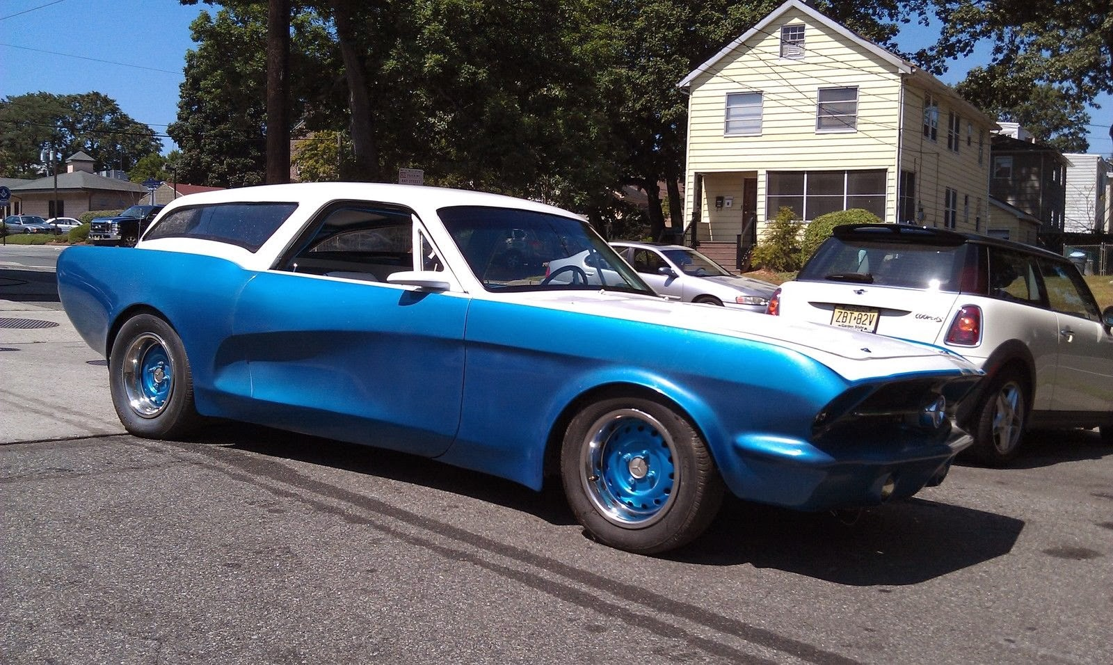 Daily Turismo 5k When Aliens Attack 1966 Ford Mustang