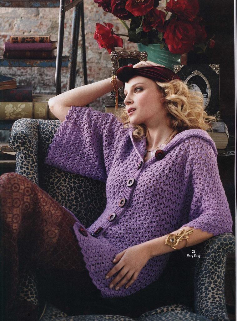 Vogue Knitting Crochet : Crinochet vogue knitting crochet
