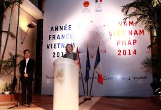 Lancement de l'Année de la France au Vietnam