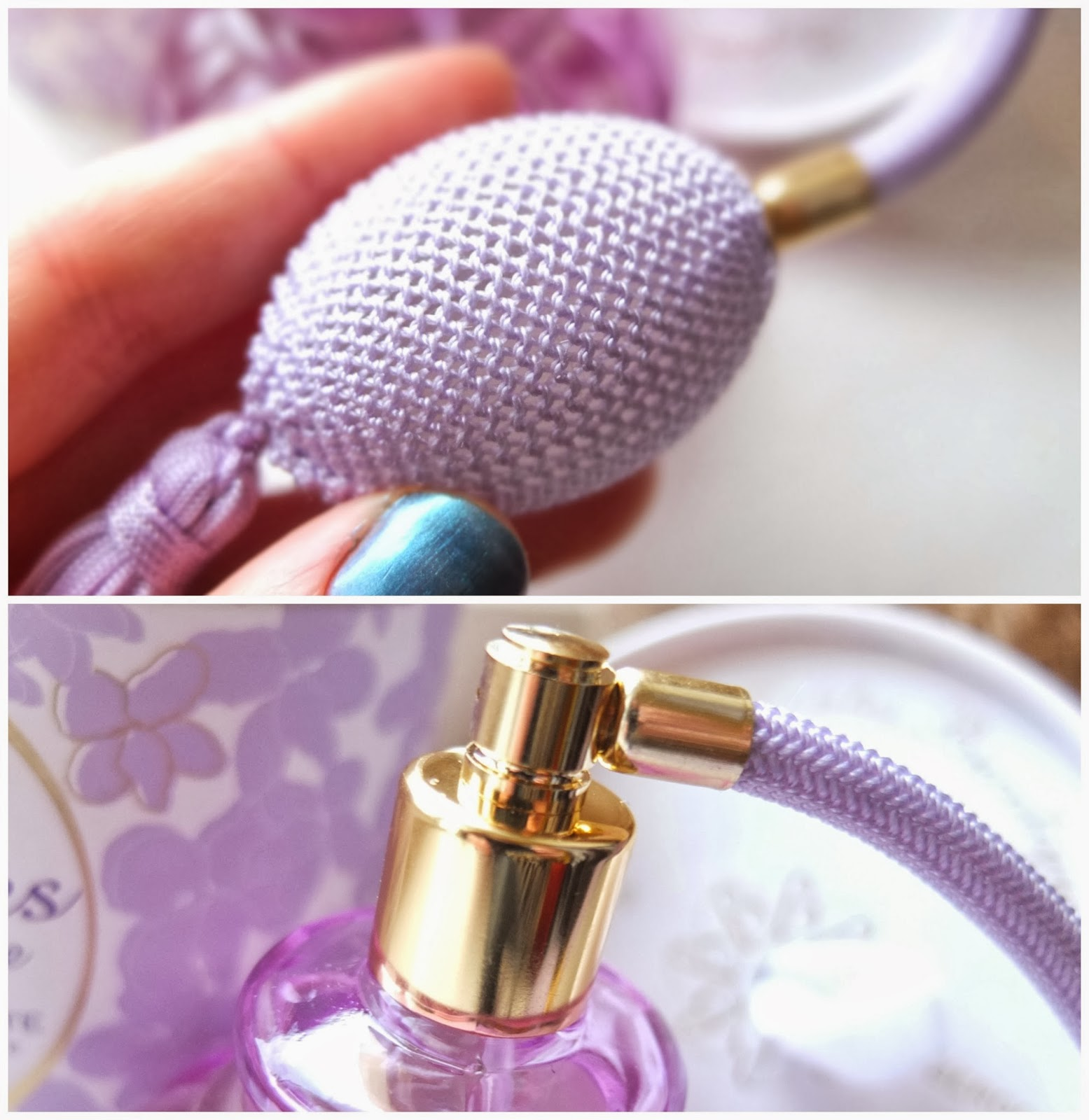 Berdoues Violette de Toulouse, a violet scented perfume from Marks and Spencers on UK beauty blog.