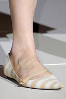Ниски обувки райе на Marc Jacobs