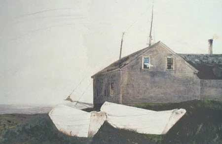 Andrew Wyeth watercolor works