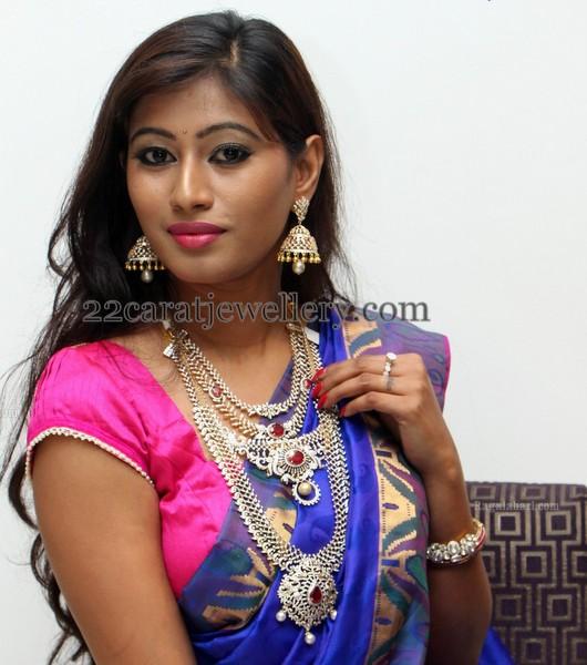 Shanthi in Diamond Sets by Hiya Jewels