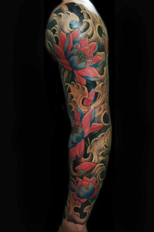 lotus flower tattoo designs blue lotus tattoo