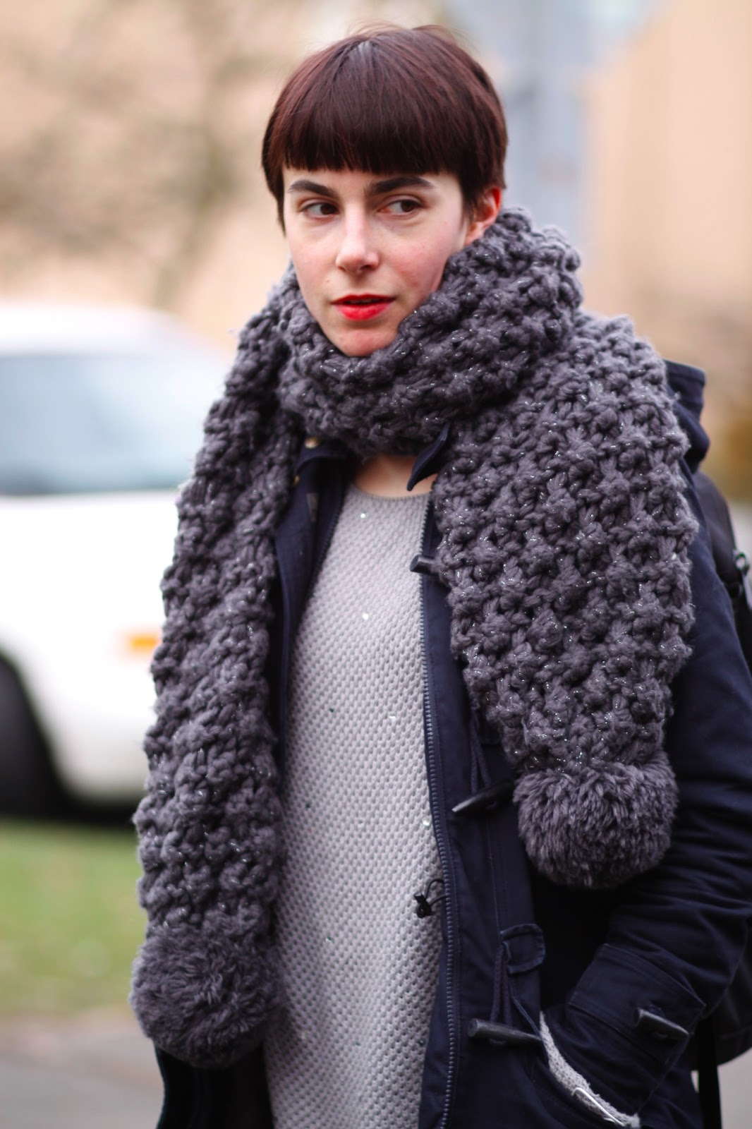 Scarf Knitting Styles : Hill style daria koshker it s my darlin