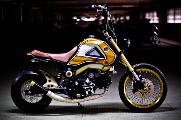 Honda MSX 125 Old School