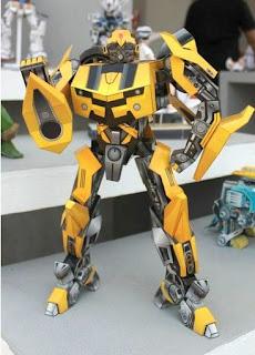 Transformers, Bumblebee Papercraft