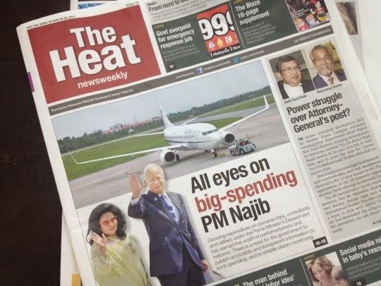 Akhbar The Heat Digantung Cetus Kontroversi