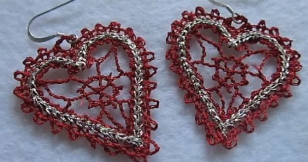 How to machine embroider lace earrings the beading gem s