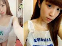 Tren Aneh, Selfie Memakai Baju dari Kantong Plastik